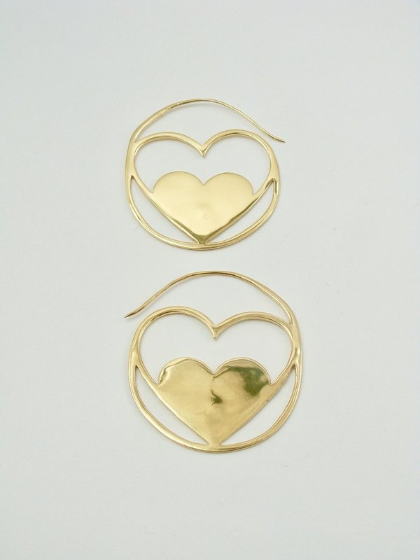 Lulu hoops earrings